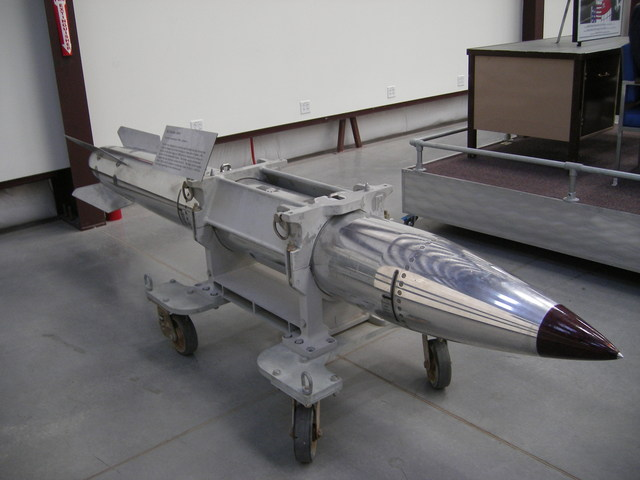 A nuclear warhead - uhuh