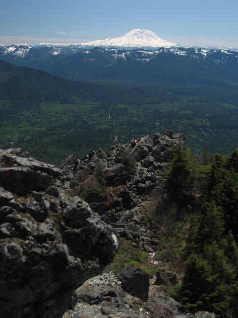 Mount Rainier, very impressive!